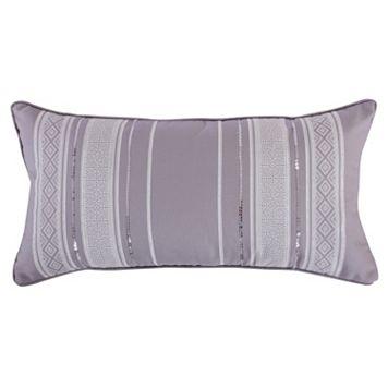 Architectural Print Sequin Pillow