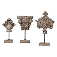 Marta Sculpture Table Decor 3-piece Set
