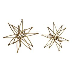 Constanza Metallic Table Decor 2-piece Set