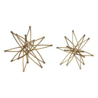 Constanza Metallic Table Decor 2-piece Set