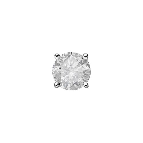 14k White Gold 1/4 Carat T.W. Diamond Stud - Single Earring