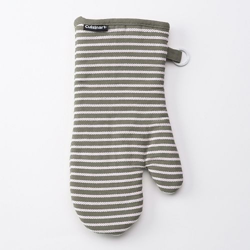 Cuisinart Yarn Dye Striped Oven Mitt