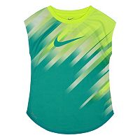 Girls 4-6x Nike Dri-FIT Curved Sublimated Pattern Tee