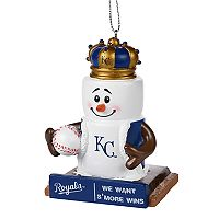 Forever Collectibles Kansas City Royals S'more Snowman Christmas Ornament