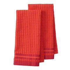 IMUSA Mini Check Kitchen Towel 2-pk.