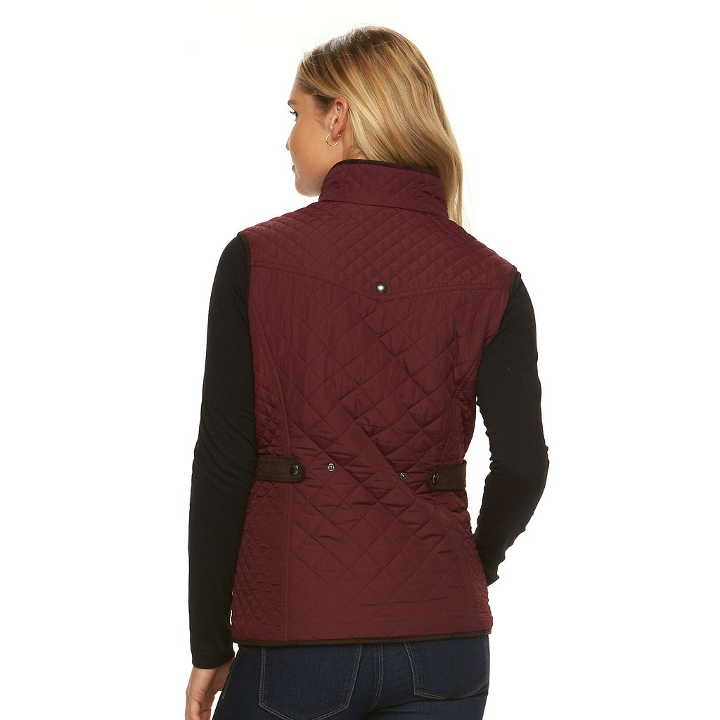 Women's Weathercast Quilted Vest