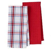 Cuisinart Waffle Kitchen Towel 2-pk.