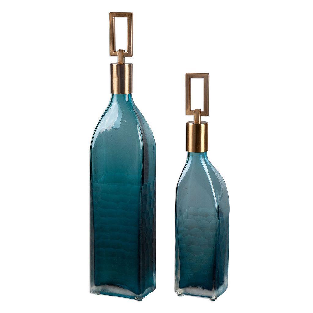 Annabella Decorative Bottle Table Decor 2-piece Set