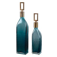 Annabella Decorative Bottle Table Decor 2 pc Set