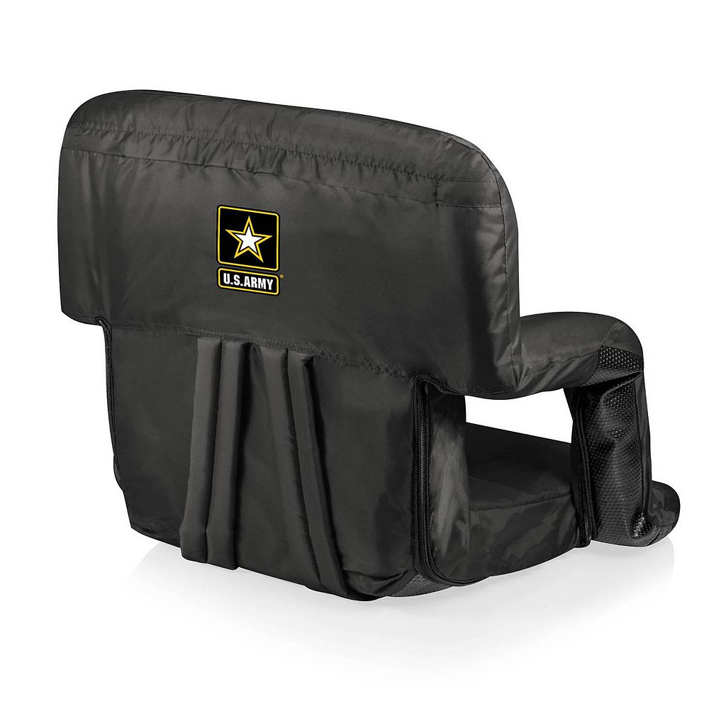 Picnic Time United States Army Ventura Portable Reclining Seat