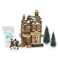 Dept 56 Cratchit's Corner Christmas Decor 4-piece Set