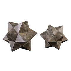 Star Decorative Table Decor 2 pc Set