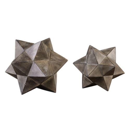 Star Decorative Table Decor 2-piece Set