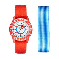 Red Balloon Kids' Time Teacher Watch & Interchangeable Band Set