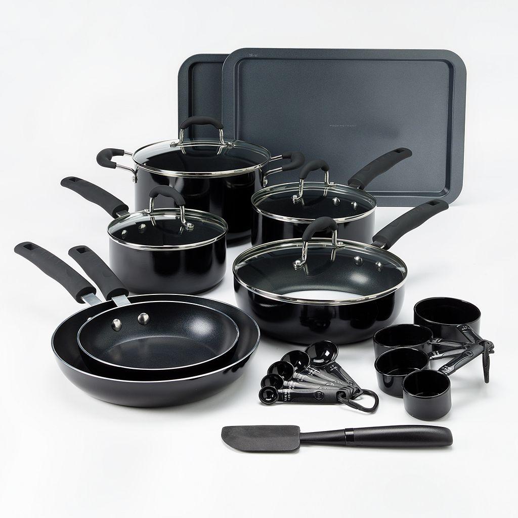 Food Network™ 22-pc. Nonstick Aluminum Cookware Set