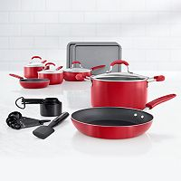 Food Network 22-pc. Nonstick Aluminum Cookware Set + $10 Kohls Cash