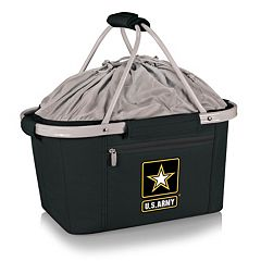 Picnic Time United States Army Metro Insulated Picnic Basket