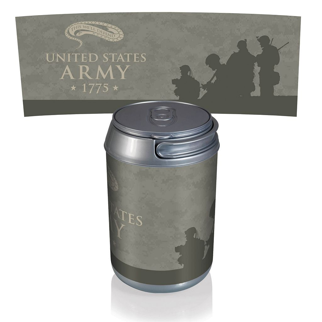 Picnic Time United States Army Mini Insulated Can Cooler