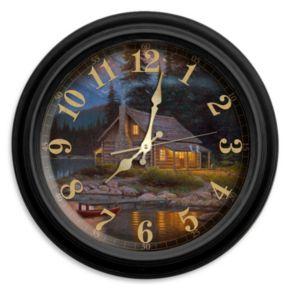 Reflective Art Tranquility Wall Clock