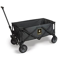 Picnic Time United States Army Adventure Collapsible Wagon