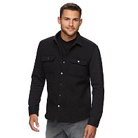 Men's Marc Anthony Slim-Fit Knit Shirt Jacket