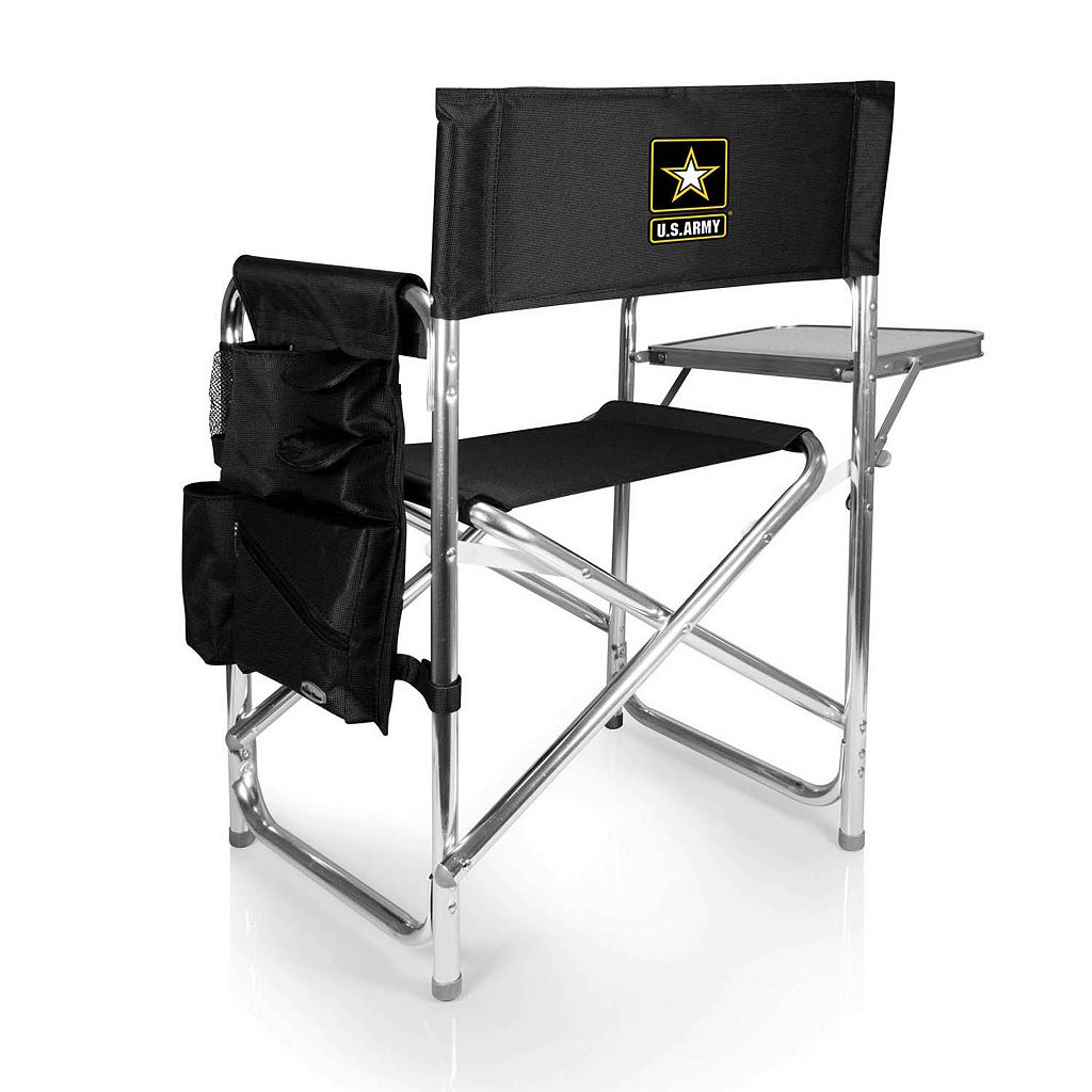 Picnic Time United States Army Sports Chair