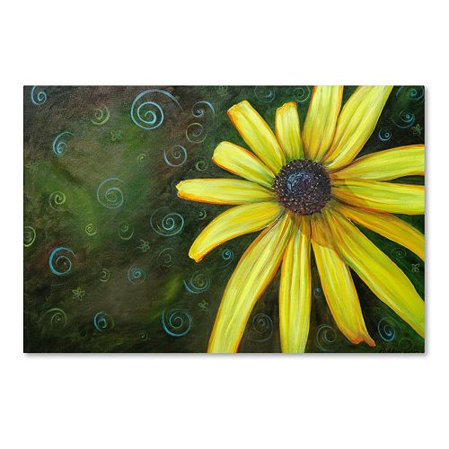 Trademark Fine Art Black Eyed Susan Canvas Wall Art