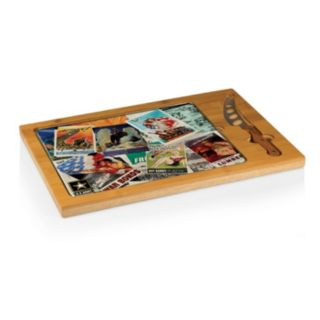 Picnic Time United States Army 3-Piece Poster Glass-Top Cutting Board Set