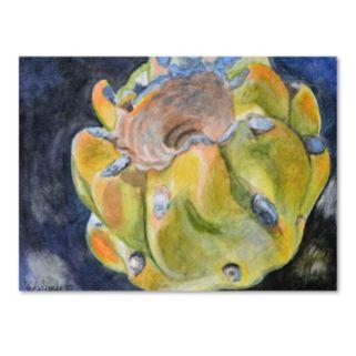 Trademark Fine Art Cactus Fruit Canvas Wall Art