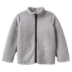 Boys 4-10 Jumping Beans® Plush Sherpa Jacket