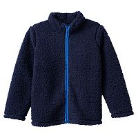 Boys 4-10 Jumping Beans® Plush Sherpa Jacket