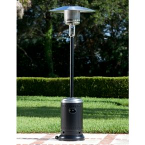 Fire Sense Hammered Stainless Steel Patio Heater