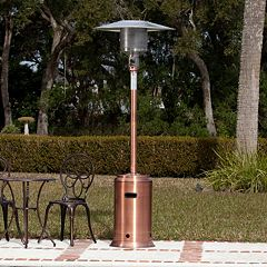 Fire Sense Copper Tone Commercial Patio Heater