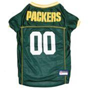 Green Bay Packers Mesh Pet Jersey