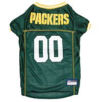 Green Bay Packers Mesh Pet Jersey