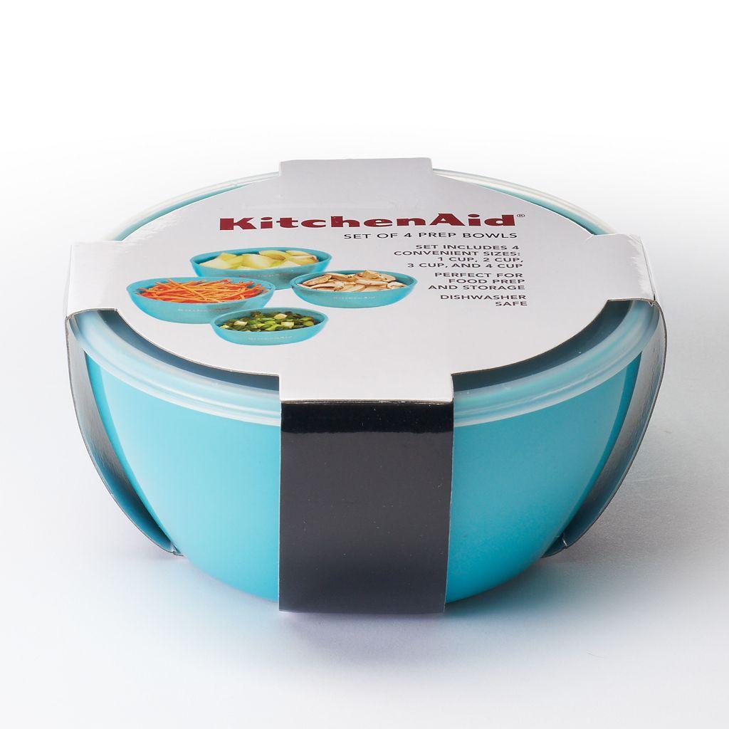 KitchenAid 4-pc. Nesting Prep Bowl Set