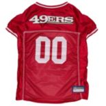 San Francisco 49ers Mesh Pet Jersey