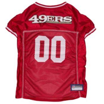 San Francisco 49ers Mesh Pet Jersey