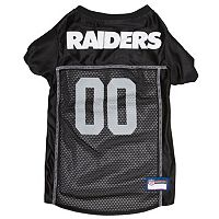 Oakland Raiders Mesh Pet Jersey