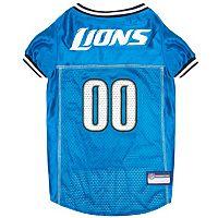 Detroit Lions Mesh Pet Jersey
