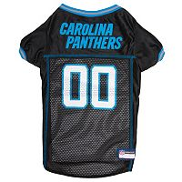 Carolina Panthers Mesh Pet Jersey
