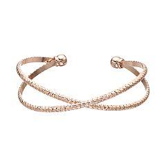 LC Lauren Conrad Crossover Cuff Bracelet