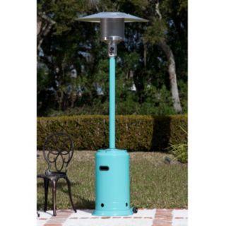 Fire Sense Aqua Blue Patio Heater