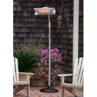 Fire Sense Stainless Steel Telescoping Infrared Patio Heater