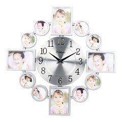 Modern Photo Wall Clock