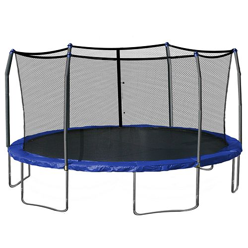 10ft Trampoline Youtube: Skywalker Trampolines 17-ft. Oval Trampoline With Enclosure