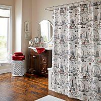 m.style Ohh La La Shower Curtain