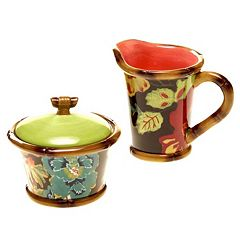 Tracy Porter Eden Ranch Sugar Bowl & Creamer Set