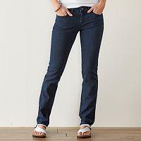 Women's SONOMA Goods for Life™ Slim Fit Straight-Leg Jeans
