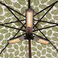 Fire Sense Umbrella Halogen Patio Heater